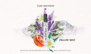 Vase Creation Organic Stress Relief Pillow Mist