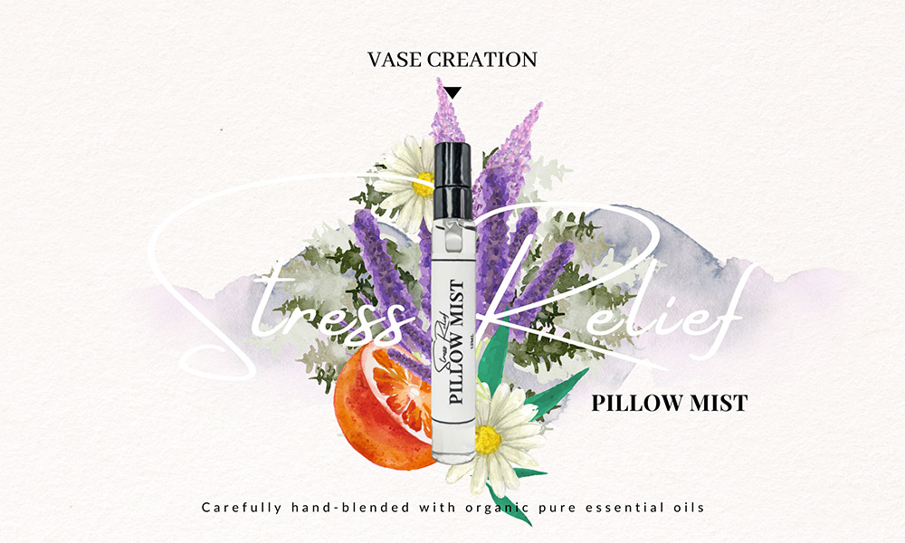 Vase Creation Organic Stress Relief Pillow Mist