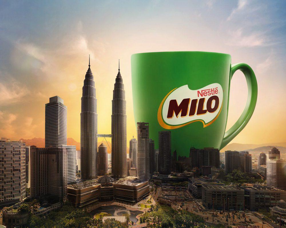 Center of the Kuala Lumpur city at noon