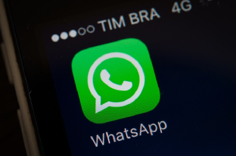 A screen shot of the popular WhatsApp smartphone application is seen after a court in Brazil ordered cellular service providers nationwide to block the application for two days in Rio de Janeiro, Brazil, on December 17, 2015. The unprecedented 48-hour blockage was to implement a Sao Paulo state court order and was to take effect at 0200 GMT Thursday, although it was not immediately clear if service providers would acquiesce to the order.The court said WhatsApp had been asked several times to cooperate in a criminal investigation, but had repeatedly failed to comply. AFP PHOTO / YASUYOSHI CHIBA / AFP / YASUYOSHI CHIBA